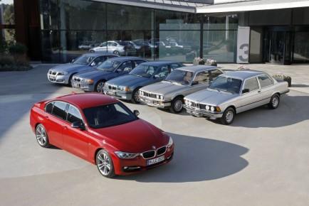 Šest generacij BMW serije 3 P90088405