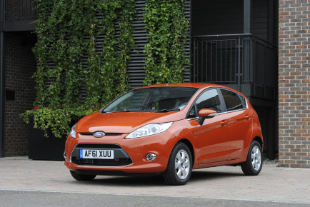 The Ford Fiesta was the UK best seller in October (UK)