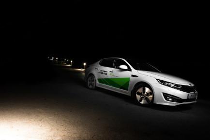 Kia Optima Hybrid 2