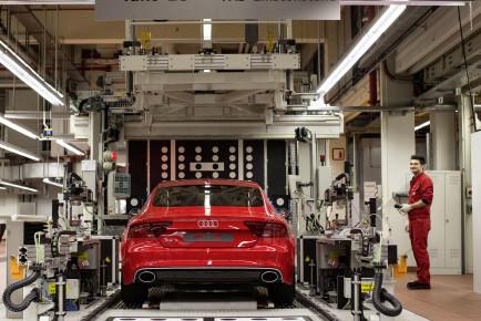 RS-Manufaktur der quattro GmbH am Standort Neckarsulm