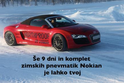 Nokian - Petrol nagradna igra