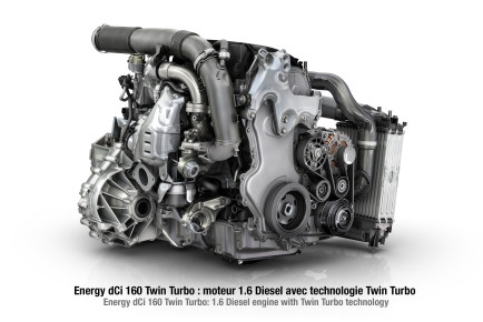 Nouveau Moteur Energy dCi 160 Twin Turbo © Pagecran