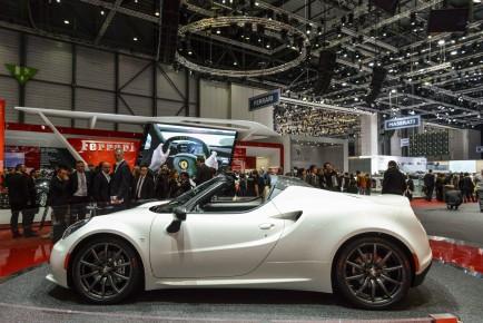 Alfa Romeo 4c Targa