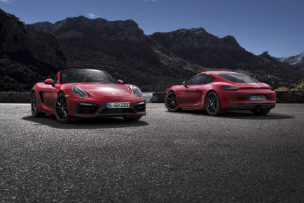 Porsche  Boxster GTS in Cayman GTS