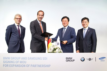 Samsung SDI BMW Group sodelovanje 1