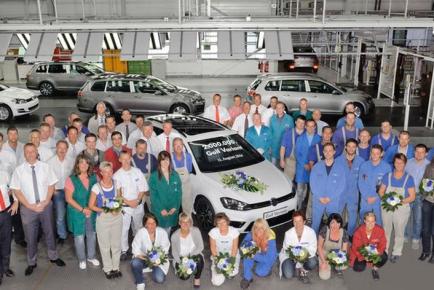 Volkswagen Golf Variant milestone