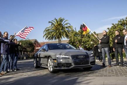 Audi A7 avtonomno vozilo