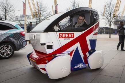 Lutz Pathfinder avtonomno vozilo