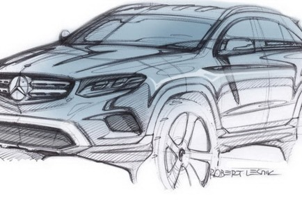 Mercedes-Benz GLC skica