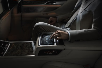 BMW Serija 7 tablica