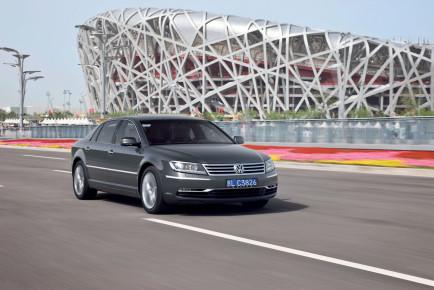 Der neue Volkswagen Phaeton/Phaeton Exclusive mit langem Radstand, W12 6.0 Motor mit 331 kW / 450 PS