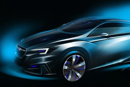 Subaru koncept Impreza (1)