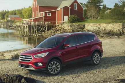 Neuer Ford Escape nimmt Kuga-Facelift vorweg