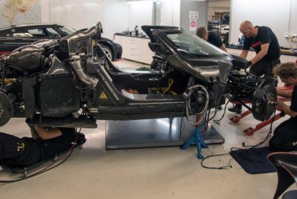 Koenigsegg One-1 crash