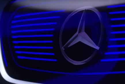 Mercedes Benz elektrika