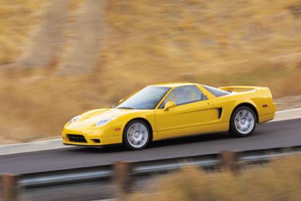2002 Acura NSX.