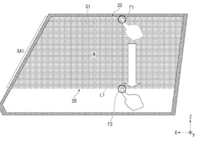 Honda patent zatemnitveno steklo