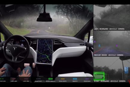 Tesla avtonomna tehnologija