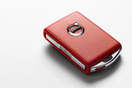 Volvo rdeči ključ
