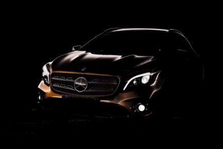 Mercedes-Benz GLA prenova