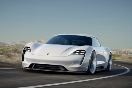 Porsche-Mission-E-Concept-front-three-quarter