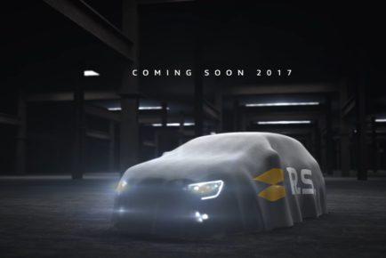 Renault Megane R.S. teaser