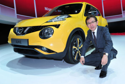 Shiro Nakamura Nissan oblikovalec