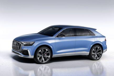 Audi erweitert SUV-Palette um Luxusmodell Q8