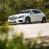 Mercedes-Benz GLA prenova White art edition 5