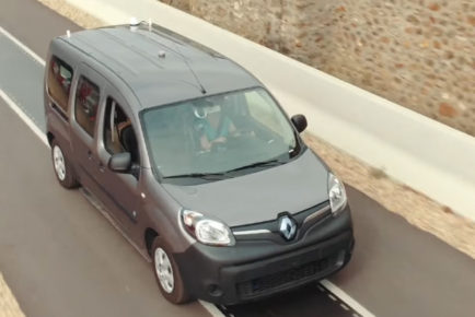 Renault Kangoo ZE Qualcomm polnjenje 1
