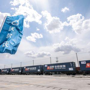 Volvo Daqing train