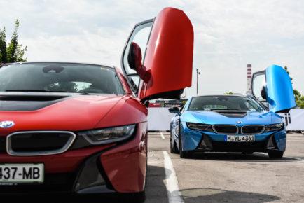 BMW i8 in i3 BMW i 1