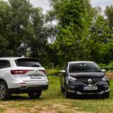 Renault Koleos in Renault Captur Initiale Paris slovenska predstavitev 2