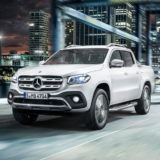 Mercedes-Benz X-Klasse – Exterieur, Beringweiß metallic, Ausstattungslinie POWER // Mercedes-Benz X-Class – Exterior, bering white metallic, design and equipment line POWER