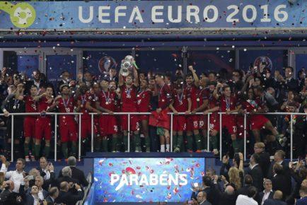 EURO 2016 - Finale - Portugal - Frankreich 1:0 n.V.