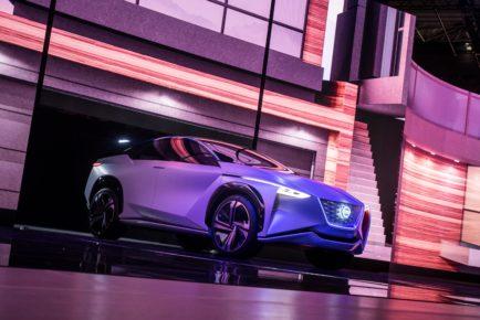 Nissan Press Conference at 2017 Tokyo Motor Show