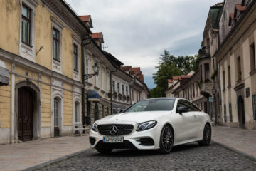 Mercedes-Benz E220 d Coupe 1