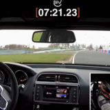 Jaguar XE SV Project 8 lap record