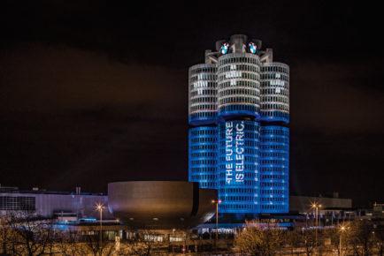 BMW električna vozila mejnik