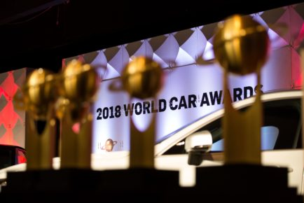 Manhattan, NY - March 28, 2018: At the 2018 World Car Awards ceremony at the Javits Center in Manhattan, NY March 28, 2018.  CREDIT: Kevin Hagen for The World Car Awards