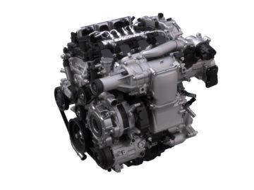 Mazda Skyactiv-X združuje dobre lastnosti bencinskih in dizelskih motorjev; kar 90 odstotkov časa naj bi motor deloval v dizelskem načinu.