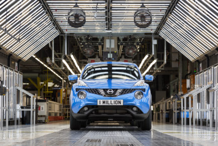One millionth Juke built at Nissan Sunderland Plant