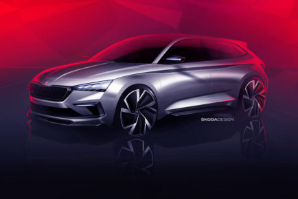 180830_ŠKODA-VISION-RS-reveals-design-for-next-RS-generation-and-a-future-compact-car-front
