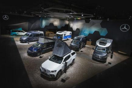 Mercedes-Benz Vans auf dem Caravan Salon Düsseldorf 2018