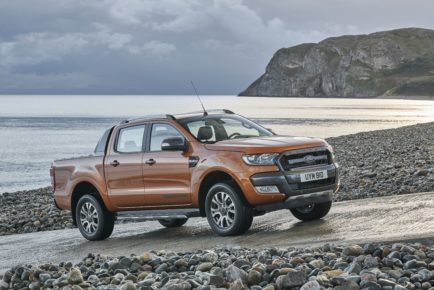 The new Ford Ranger offers improvced fuel efficiency and a host