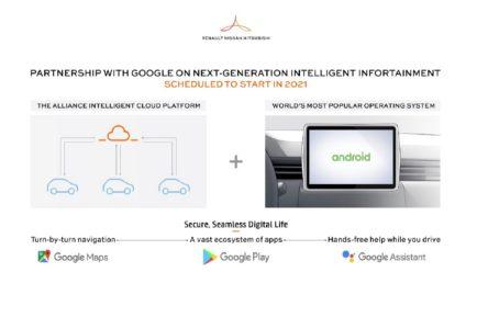 Renault-Nissan-Mitsubishi_Android infotaiment