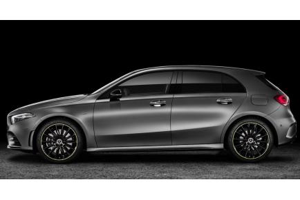 BMW serije 1 in Mercedes-Benz razred A, letnik 2018: močno podobna in neposredna tekmeca.