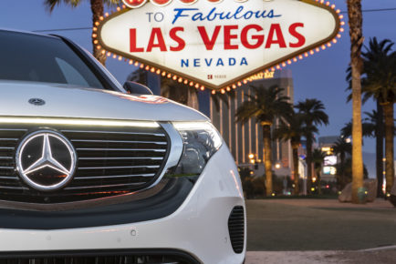 Mercedes-Benz EQC: US Premiere auf der CES 2019 in Las Vegas.Mercedes-Benz EQC: US Premiere at the 2019 CES in Las Vegas.