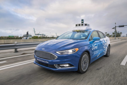 Ford Autonomous Vehicle Testing in Miami