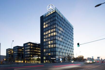 Mercedes-Benz Vertrieb Deutschland Unternehmenszentrale in BerlinMercedes-Benz Sales Germany in Berlin